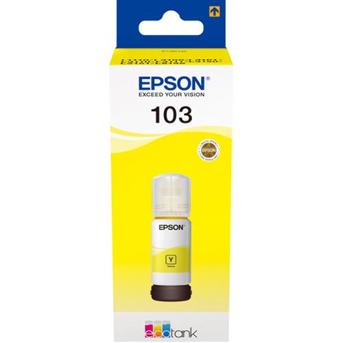 Купить Чернила Epson 103 Yellow для L3100