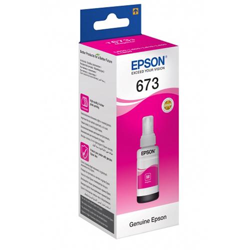 Купить Чернила Epson 673 Magenta для L800/L1800